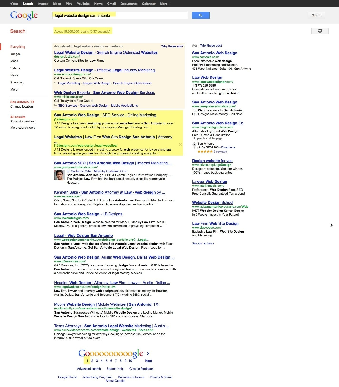 Legal Website Design Search Result | Seo (Search Engine