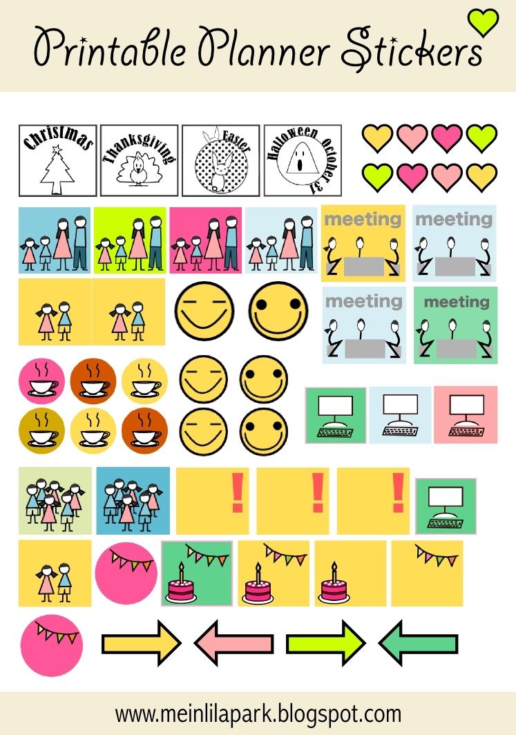 Print Calendar Reminder Stickers   Calendar Template 2019
