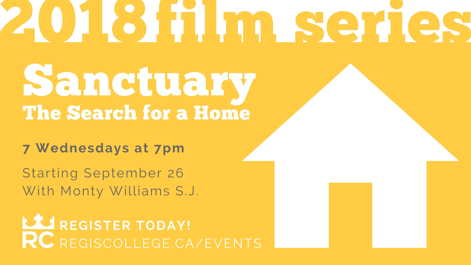 Regis Film Series Fall 2018 Sanctuary: The Search For A Home