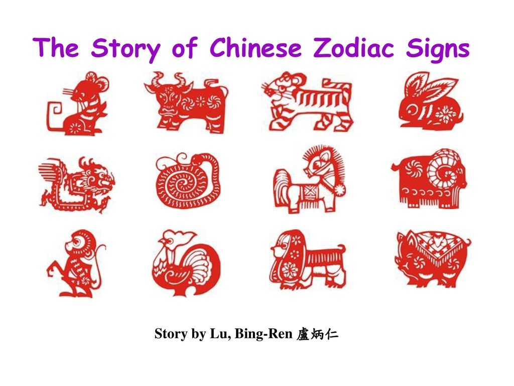 The Story Of Chinese Zodiac Signs - Ppt Download