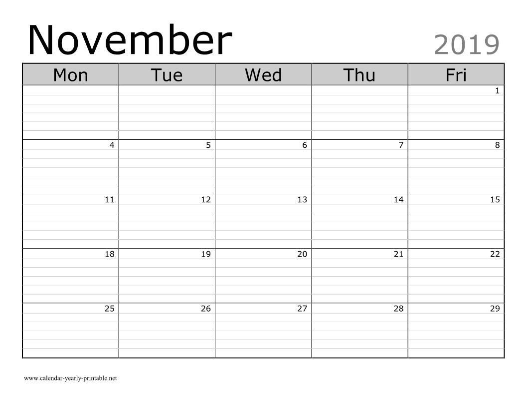Free Printable Calendar Lined | Ten Free Printable ...