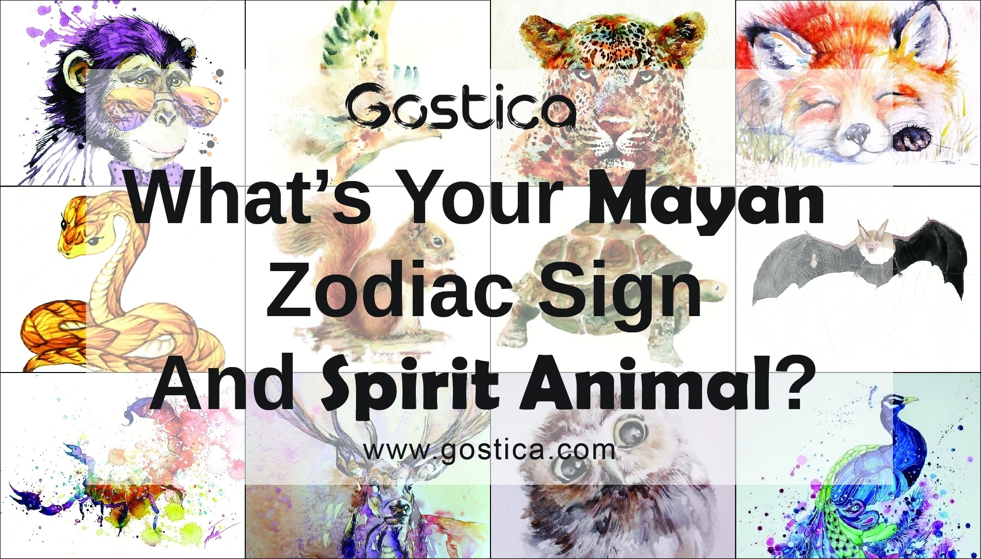 What's Your Mayan Zodiac Sign And Spirit Animal?-Mayan