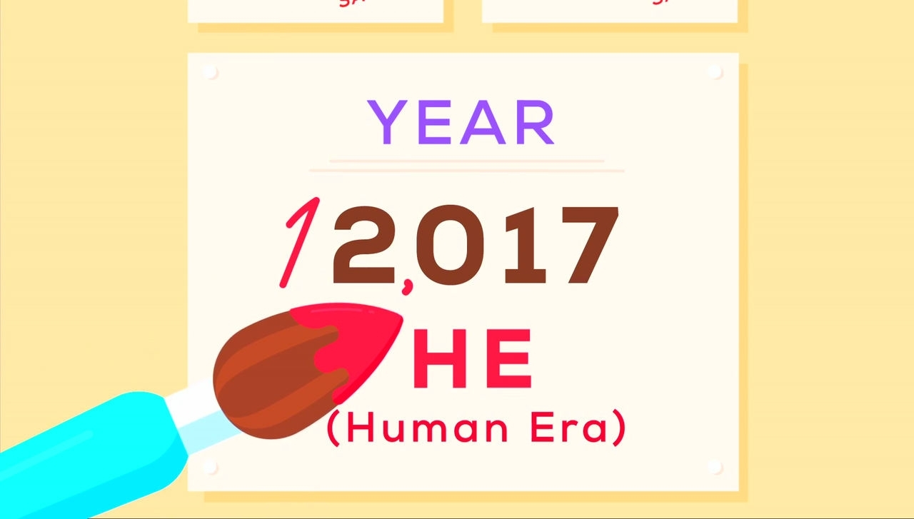 "Why Should We Adopt The New Calendar ""humanity Era (He"