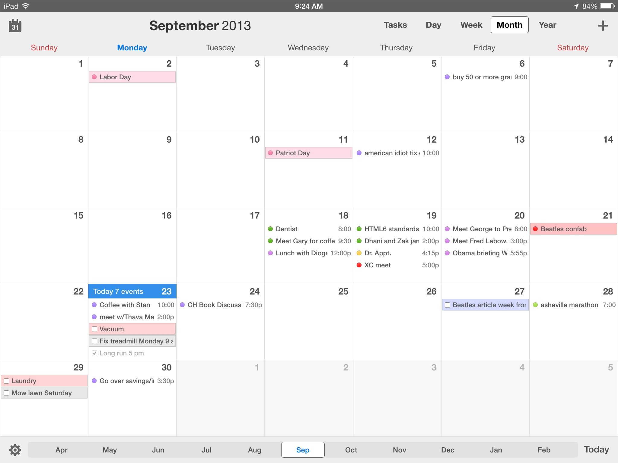 Calendars 5 For Ios Review: Better Than Calendar On All Your