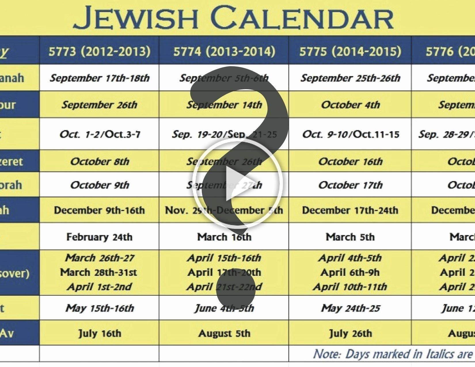 Elegant 31 Design 5777 Hebrew Calendar Printable In 2020