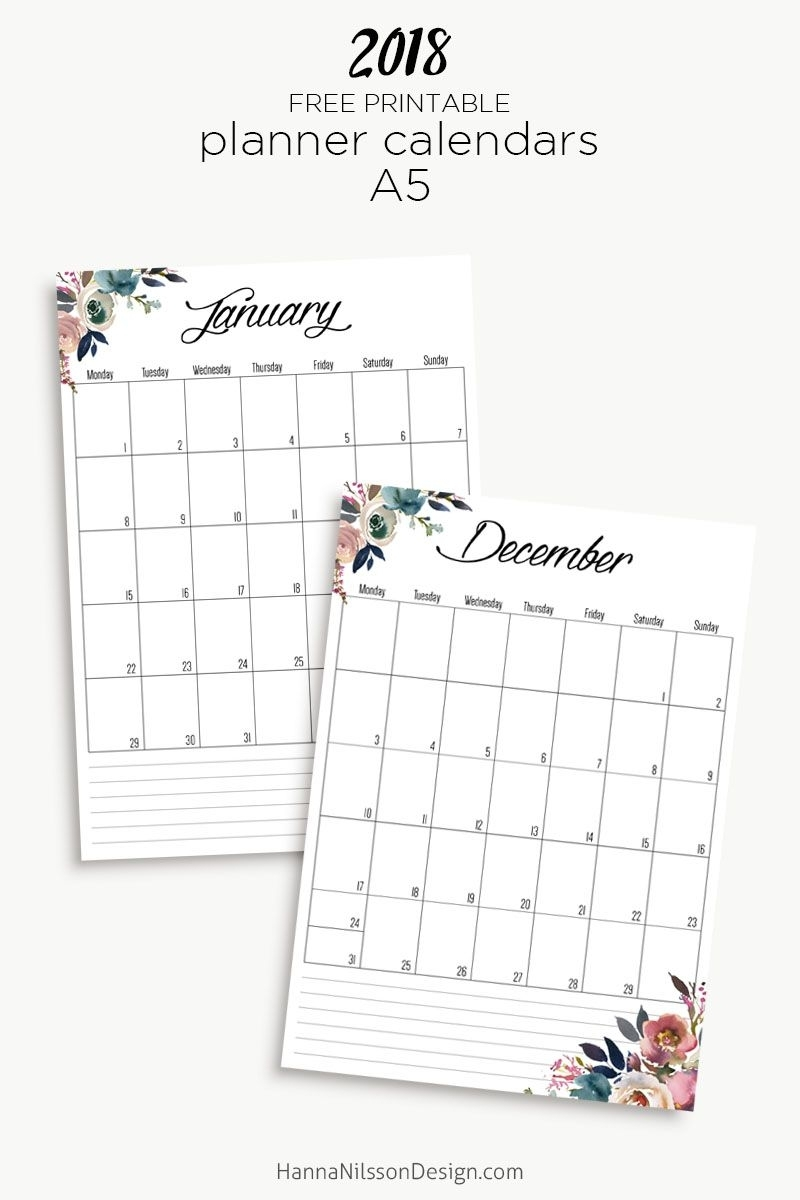 Free Yearly Calendar | Printable Calendar Pages, Free