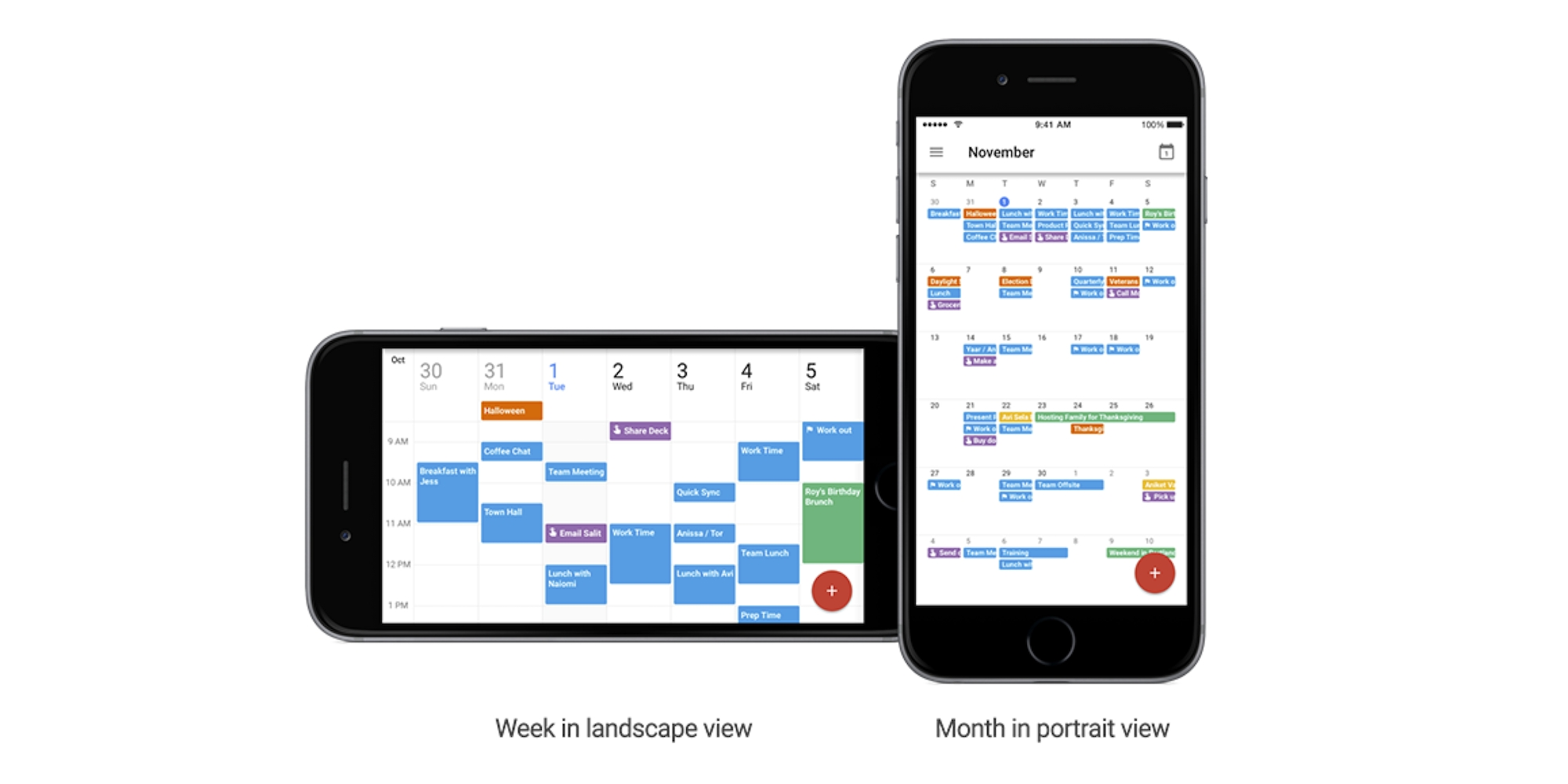 Google Calendar For Iphone Adds Spotlight Search, Month View