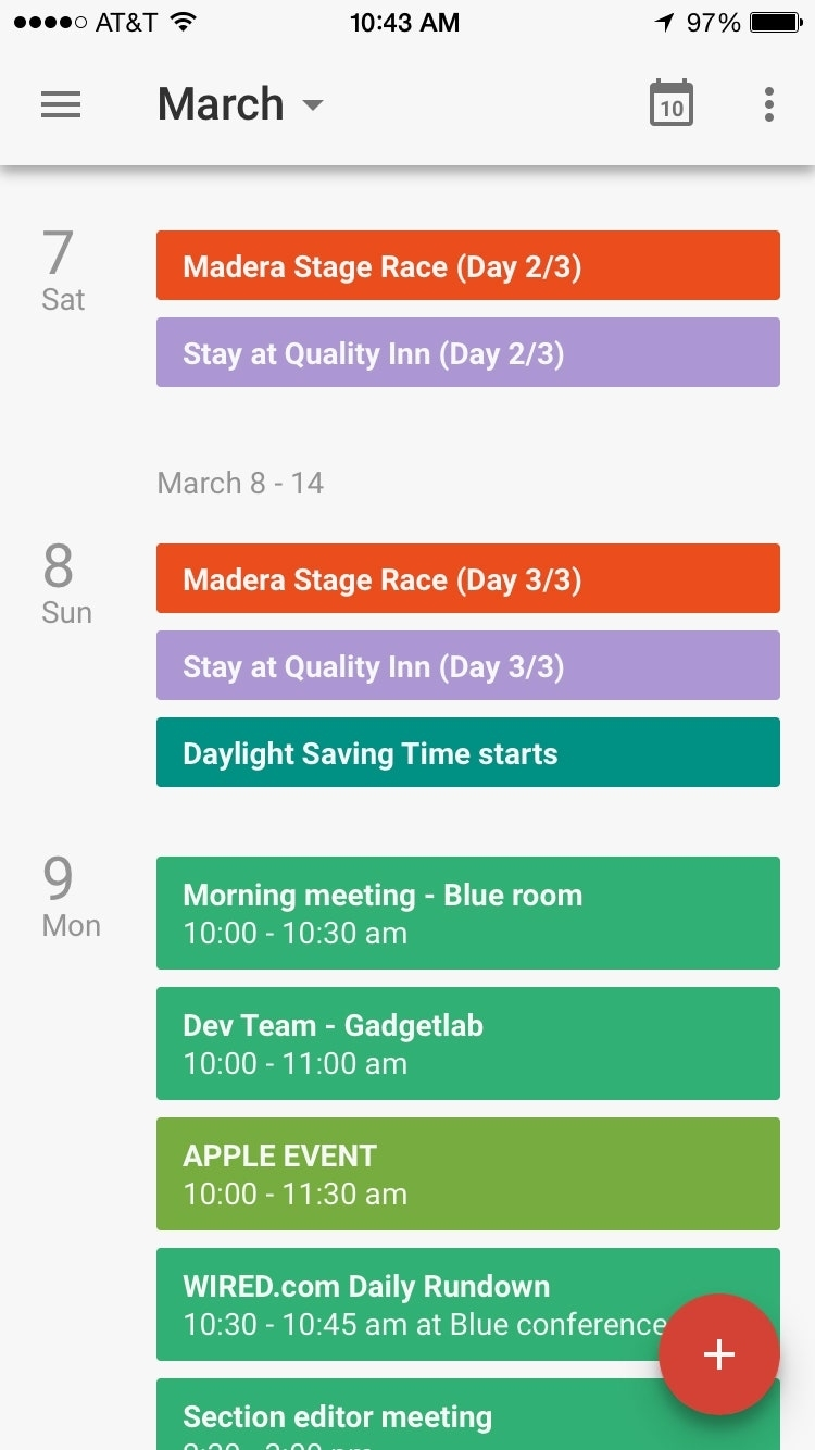Google's Calendar App Finally Arrives On The Iphone | Wired