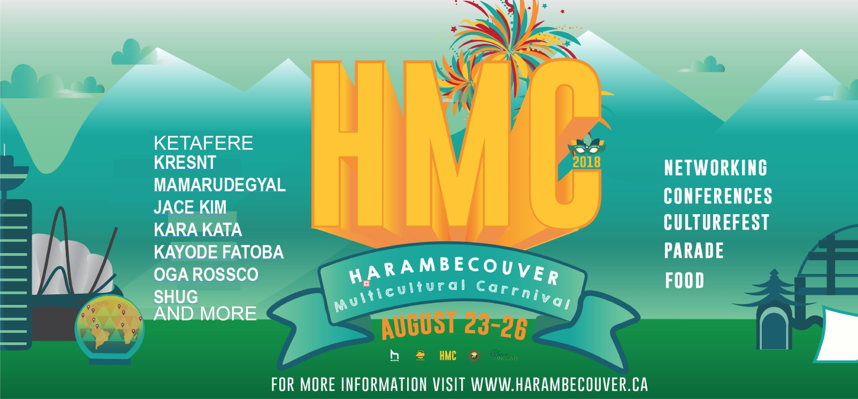 Harambecouver Multicultural Carnival   Wilderness Committee