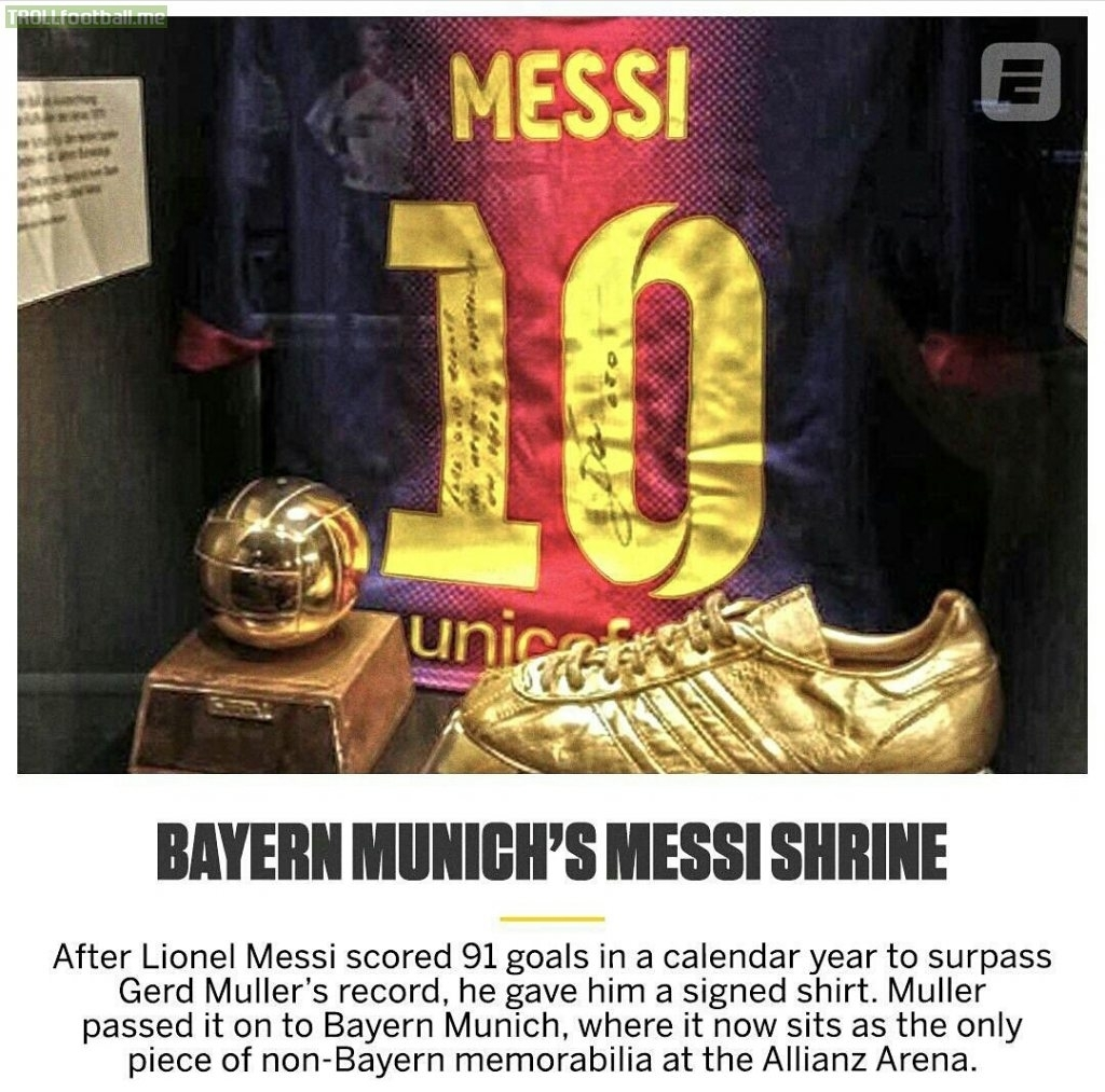 In 2012, When Messi Broke Gerd Muller's Record Of Most Goals