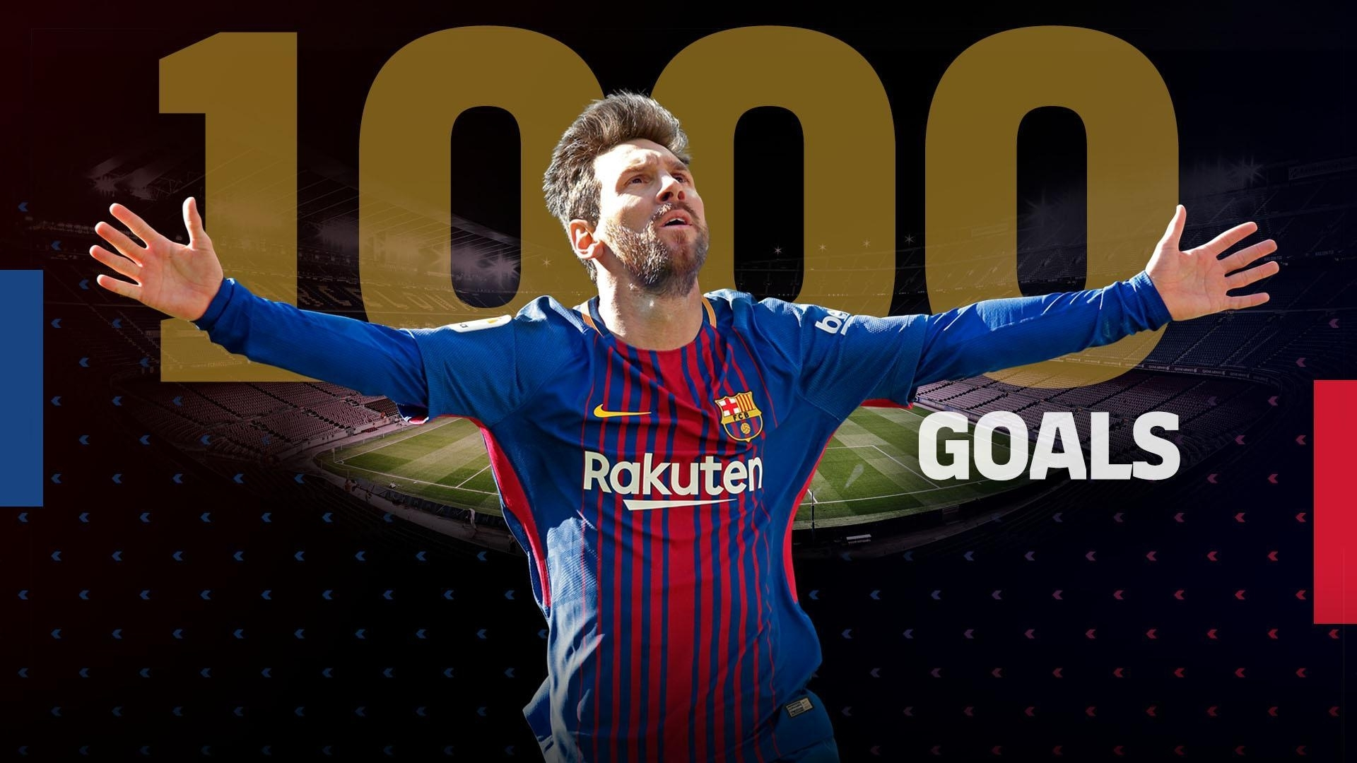 Lionel Messi Reaches 1,000 Goals As A Footballer