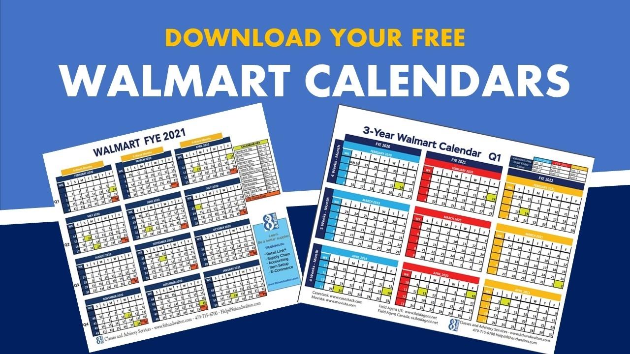 Walmart Fiscal Year Calendar   2020 – 2021   Free Download