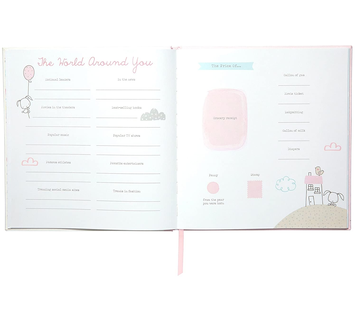 Wonderful You! Baby Memory Bookc.r. Gibson