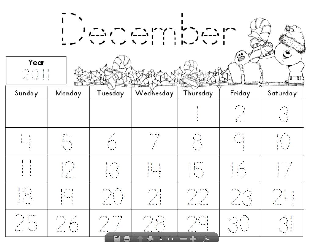 Kindergarten+Calendar+Math+Printables | Calendar Math