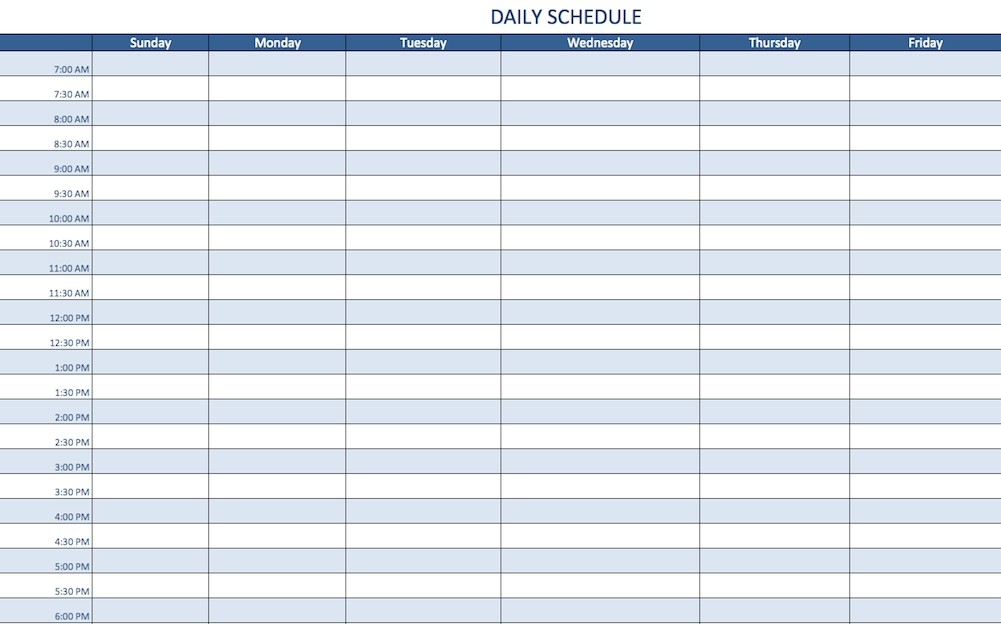 2 Minute Schedule Template You Will Never Believe These Bizarre Truth Behind 2 Minute Schedule