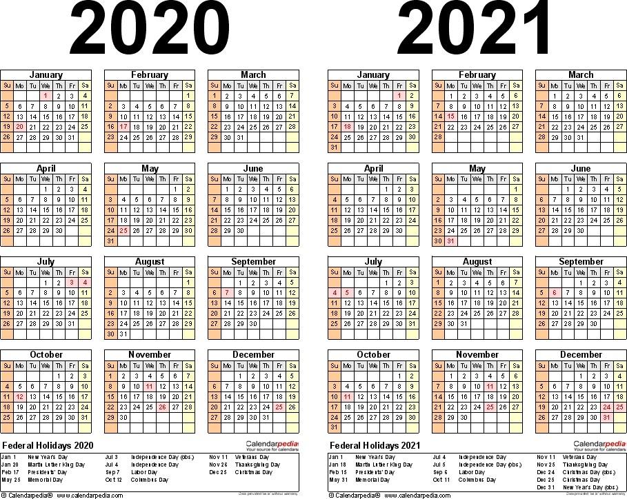 2021 Year Planner Printable | Ten Free Printable Calendar ...