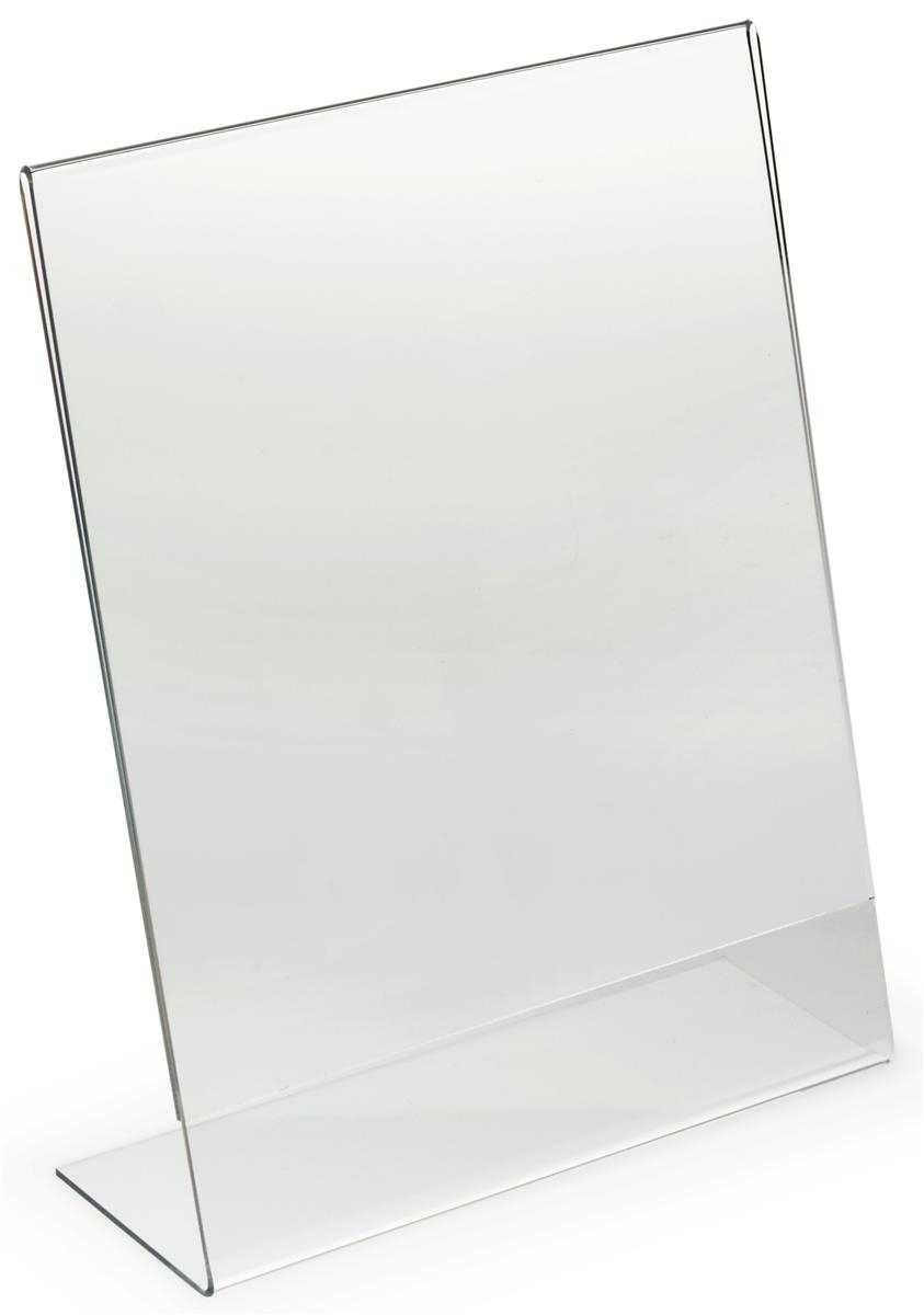 "8.5"" X 11"" Acrylic Display Frame   Sign Holder W/ Polished Edges"