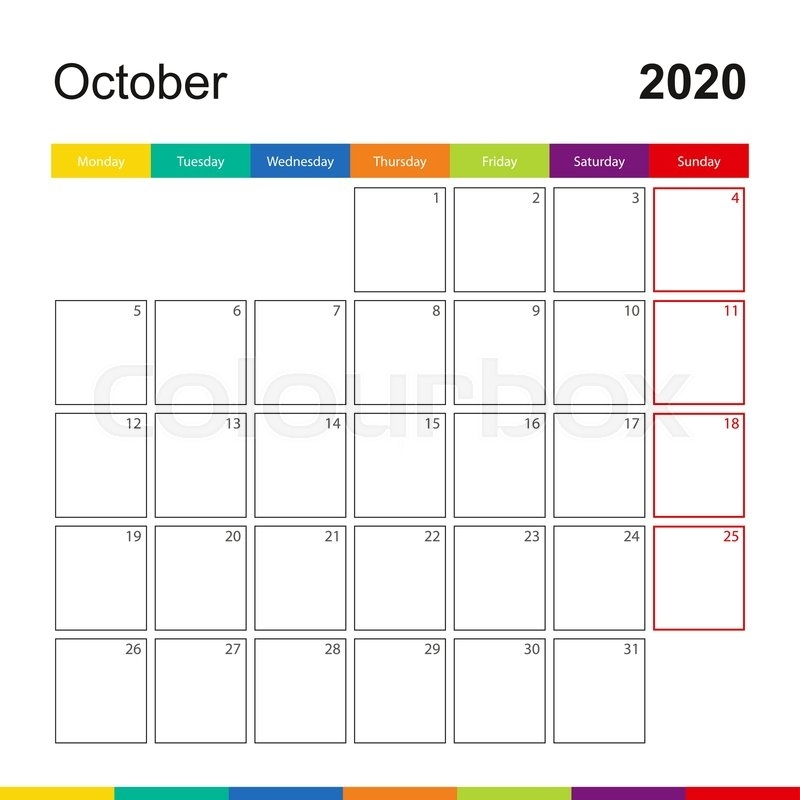 Calendar For The Week Template | Hq Template Documents