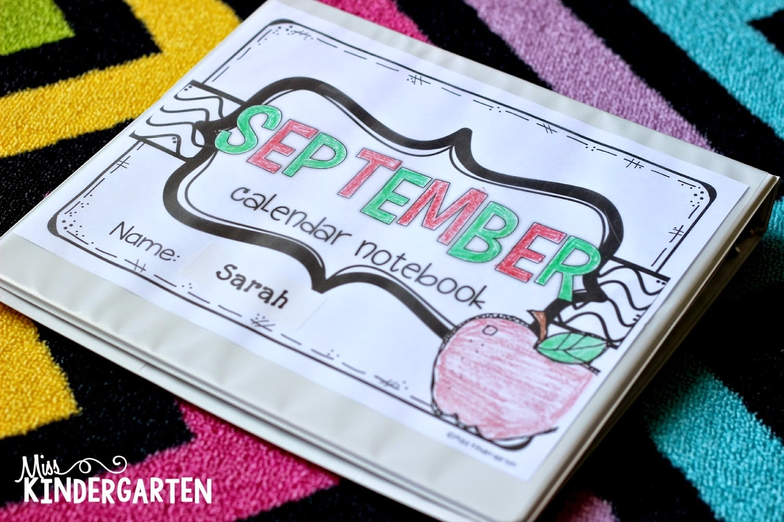 Calendar Time {Using Interactive Calendar Notebooks} - Miss Kindergarten