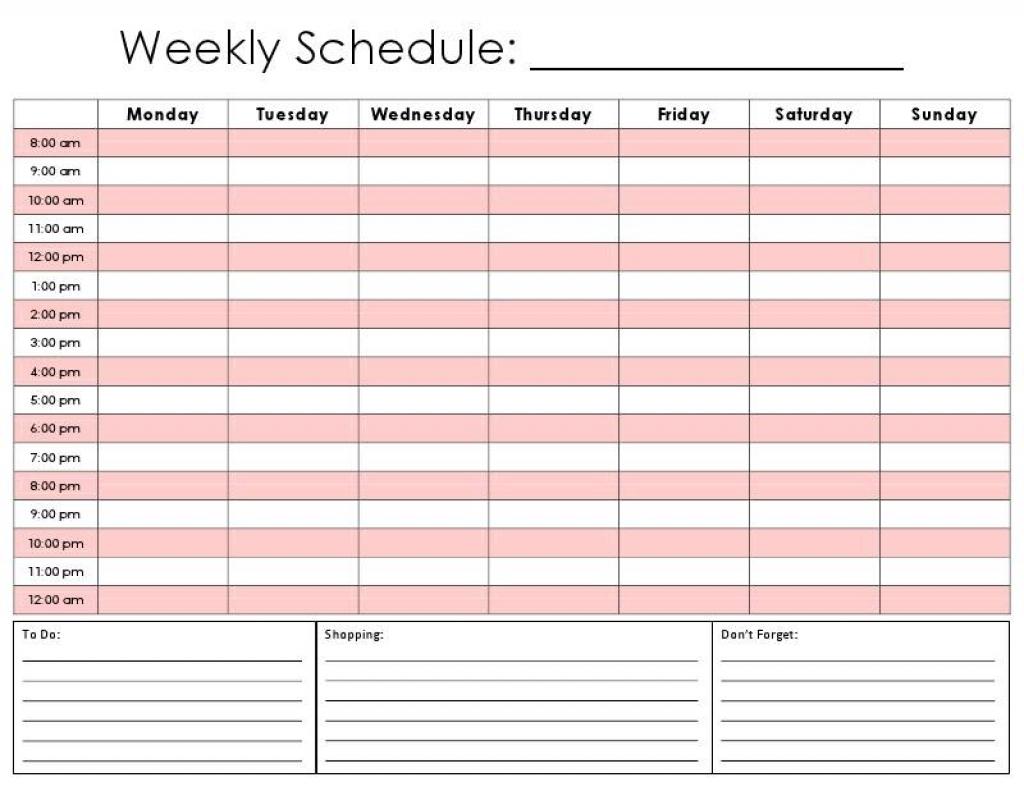 Daily Calendarquarter Hour | Daily Calendar Printable 2020