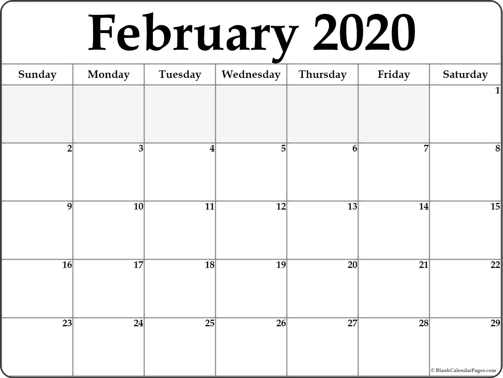 Free Printable Calander 2020 Victoria Wiht Spaces To Write - Calendar Inspiration Design