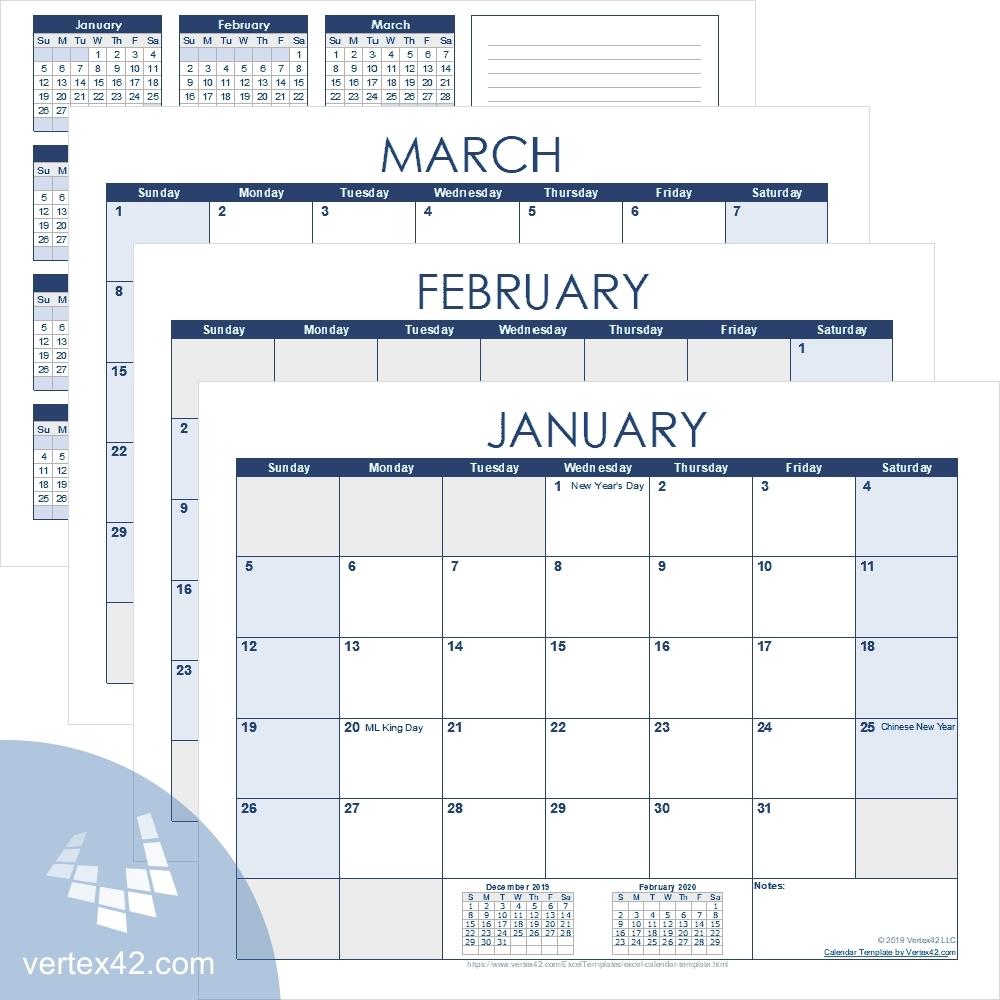 Free Printable Calendar Academic | Ten Free Printable Calendar 2020-2021