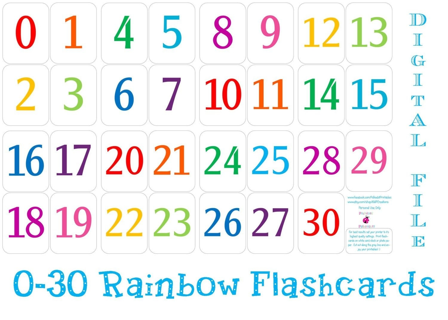 Free Printable Calendar Numbers For Teachers | Calendar Printables Free Templates