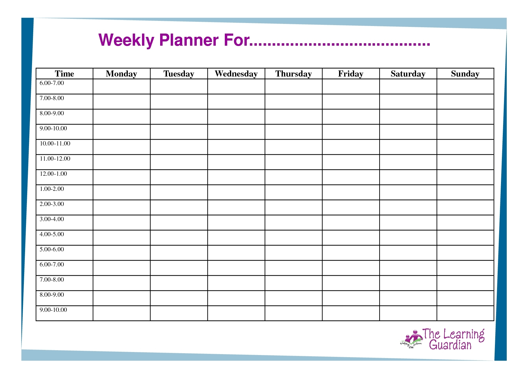 Free Printable Calendar With Time Slots | Ten Free Printable Calendar 2020-2021
