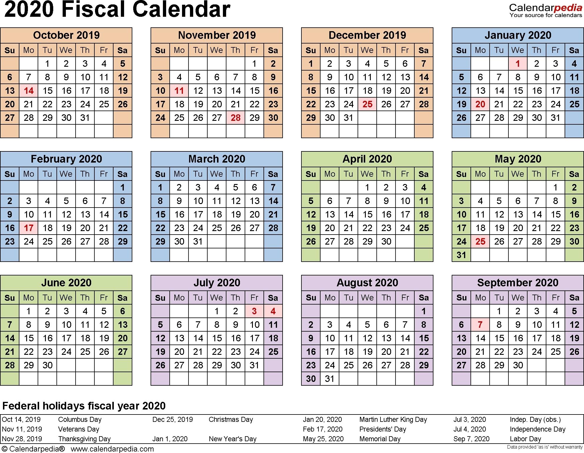 Government Julian Date 2020 - Template Calendar Design