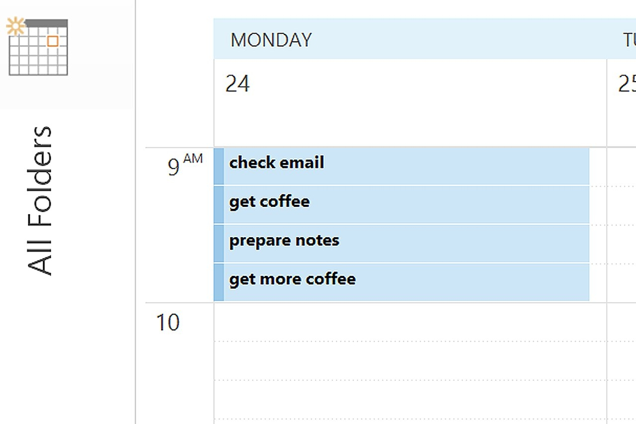 How To Create My Own 15-Minute Increment Calendar In Outlook | Ehow