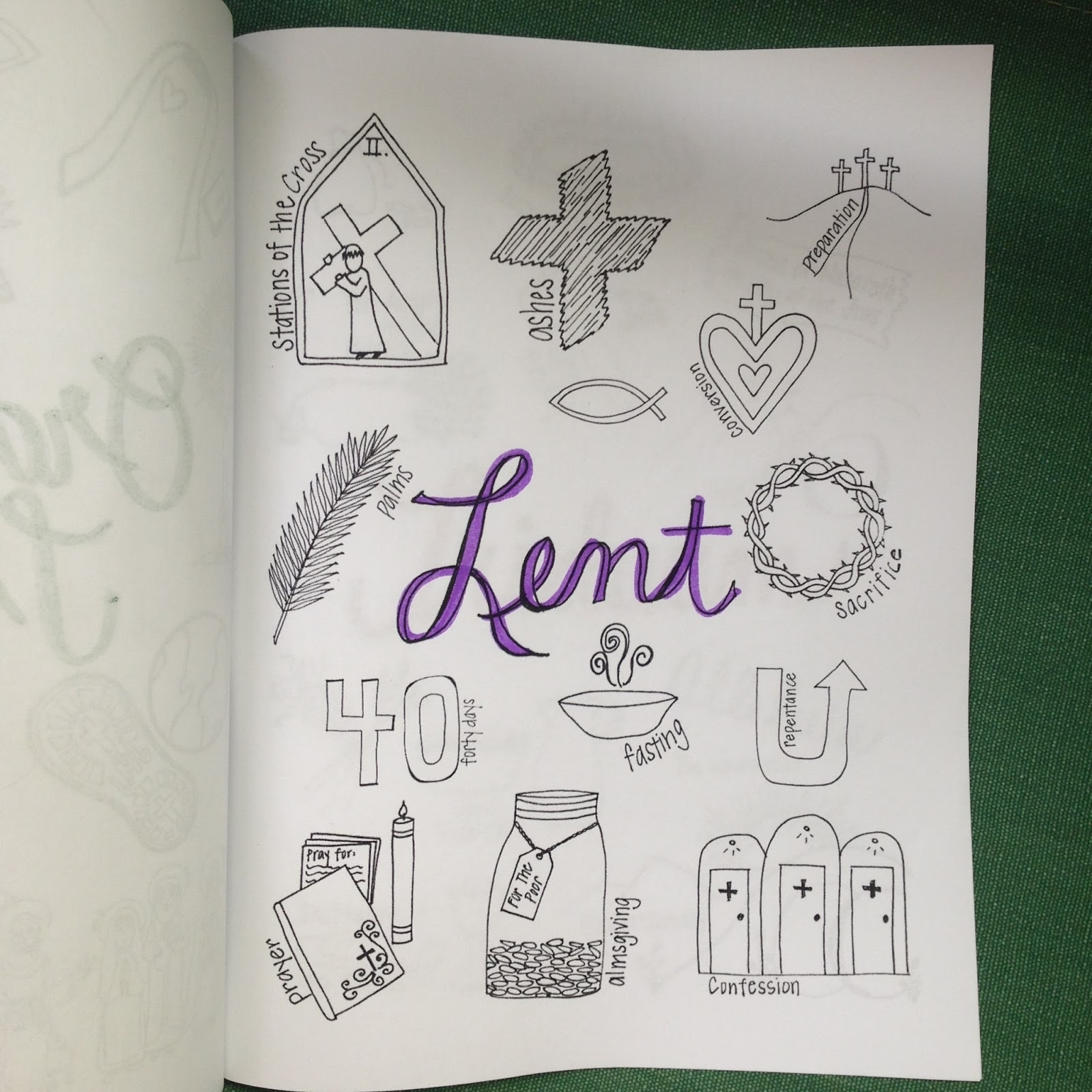 Look To Him And Be Radiant: The Liturgical Year Coloring Book