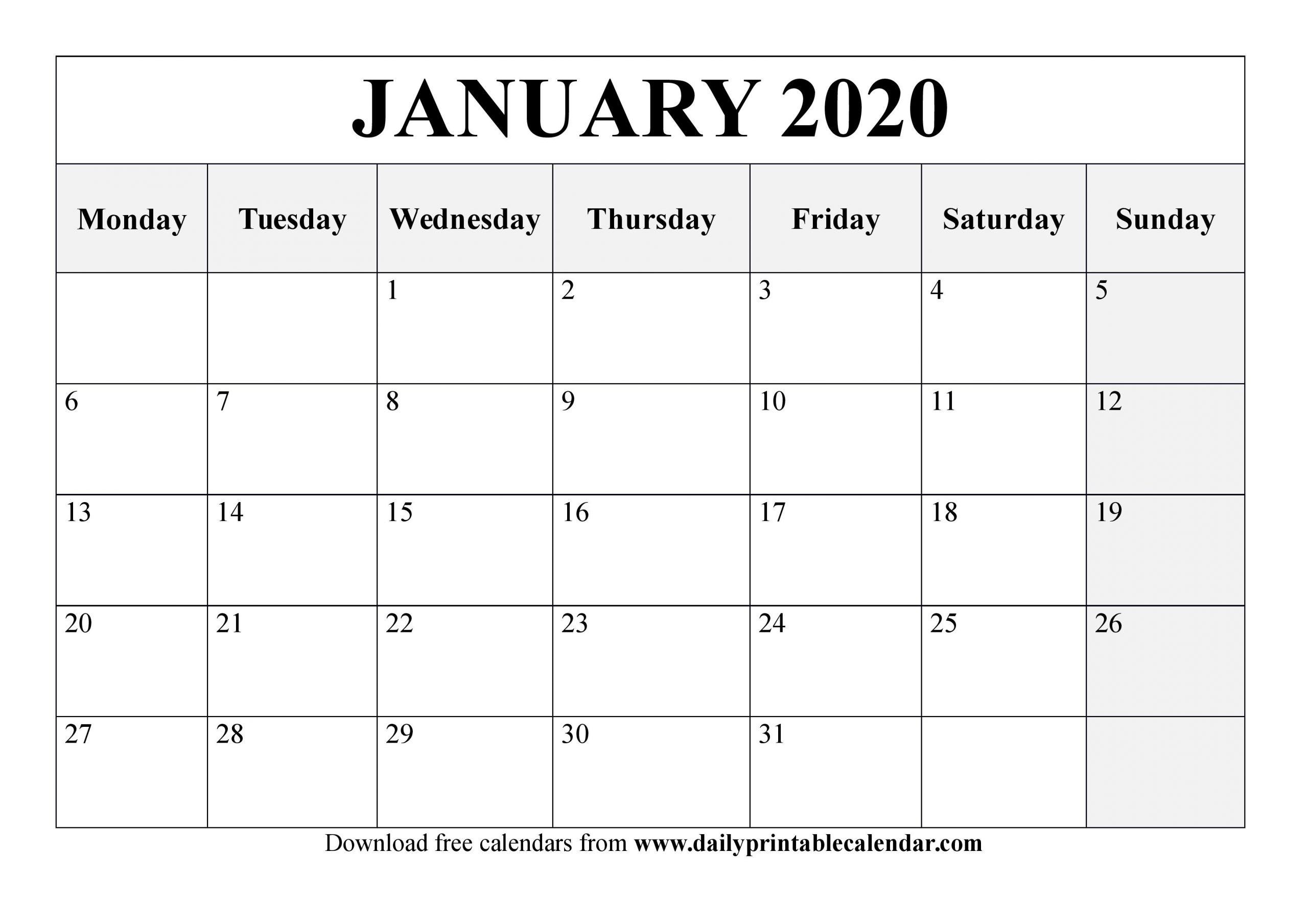 Printable Calendar Saturday Start   Calendar Printables Free Templates