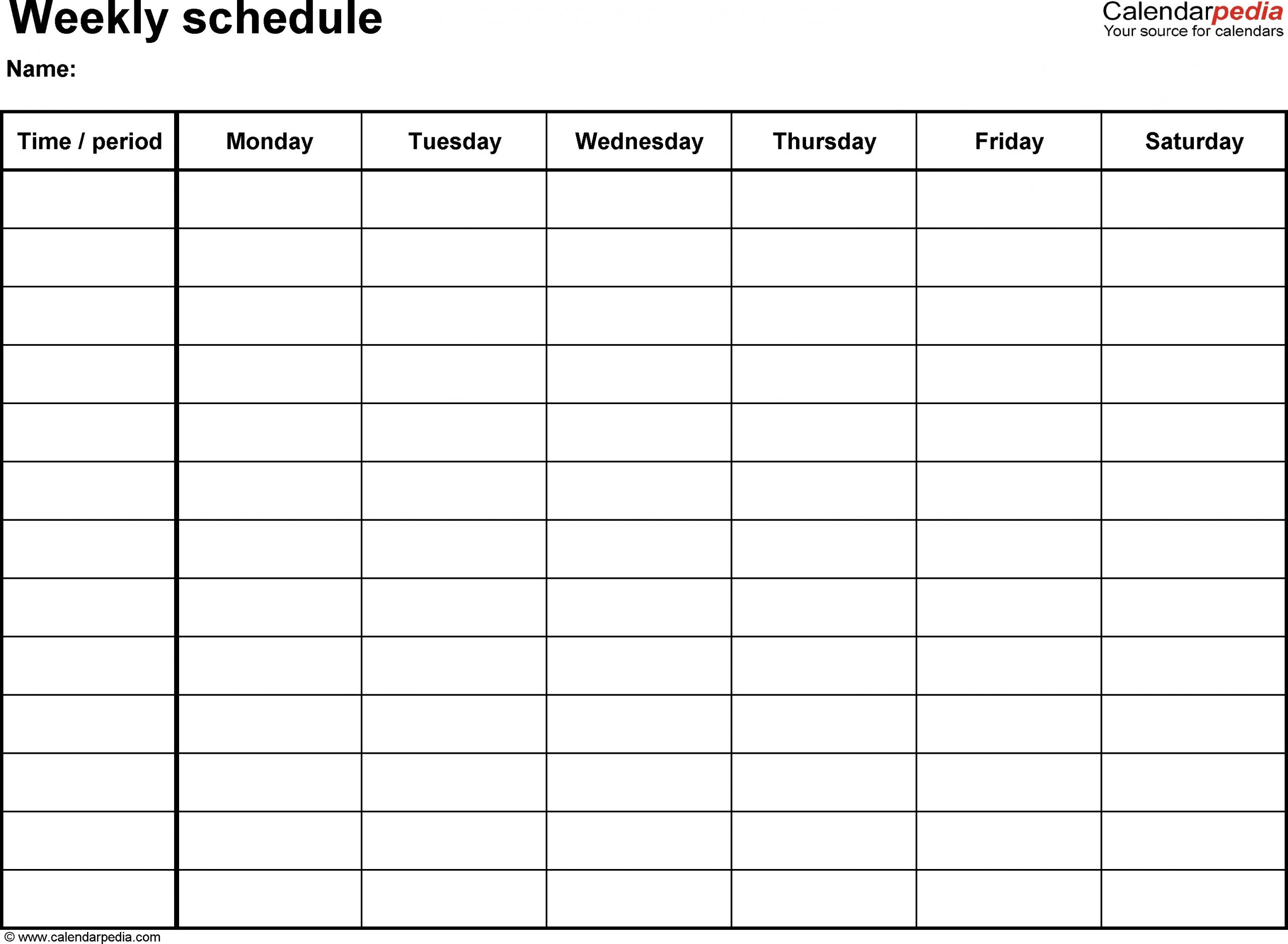 Printable Calendar Sunday Through Saturday   Ten Free Printable Calendar 2019-2020