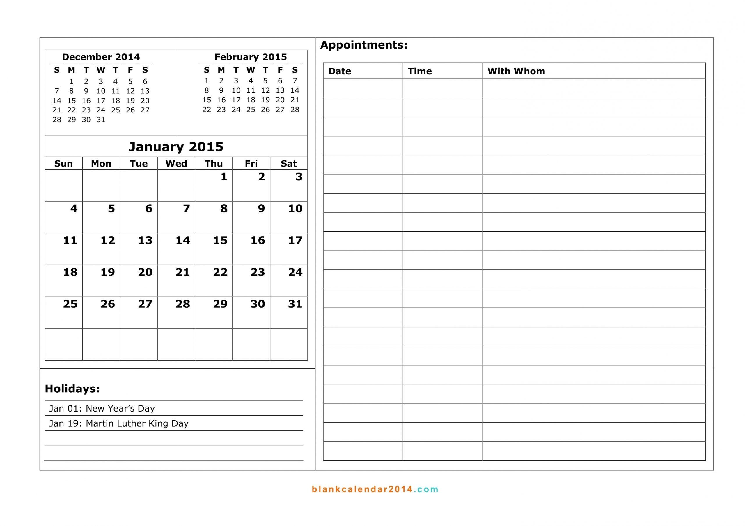 Printable Weekly Calendar With 15 Minute Time Slots   Calendar Template Printable