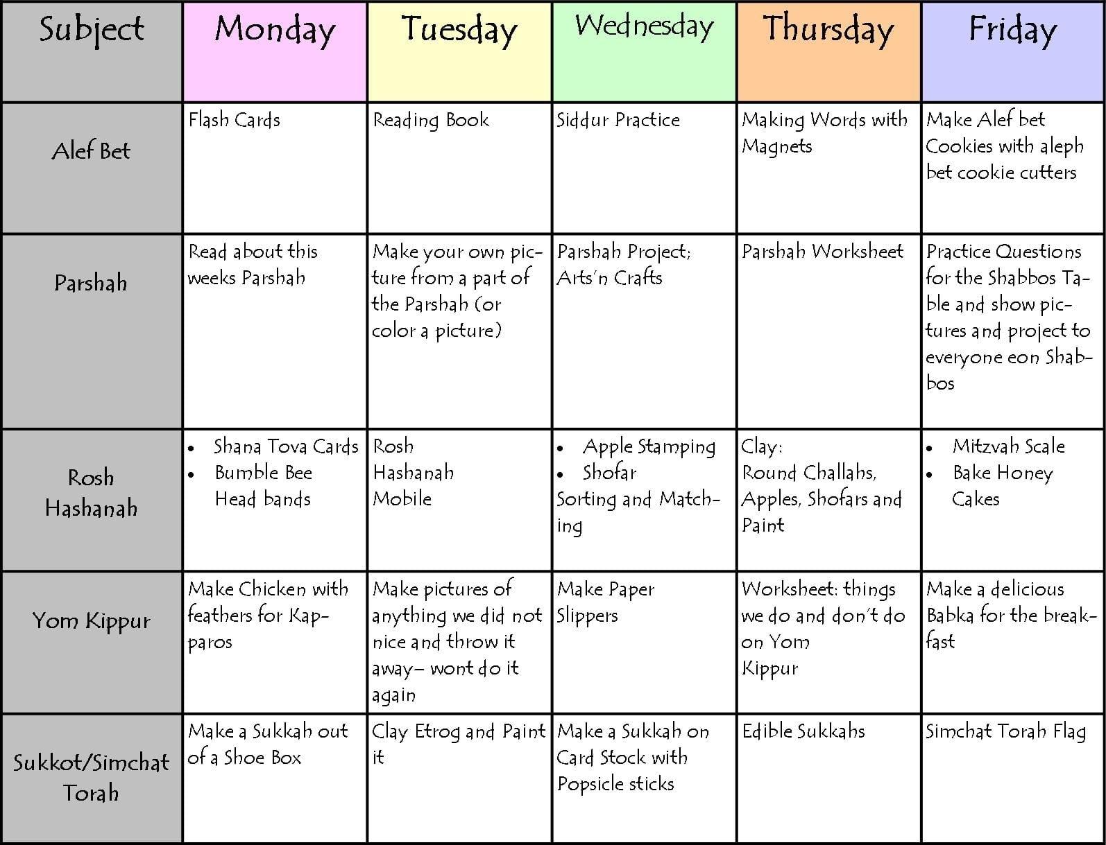 Schedule Spreadsheet Template — Excelxo