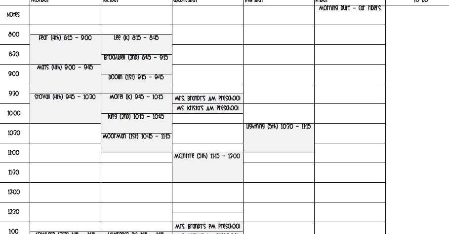 """Search Results For """"Printable Daily Planner 15 Minute Increments"""" - Calendar 2015"""