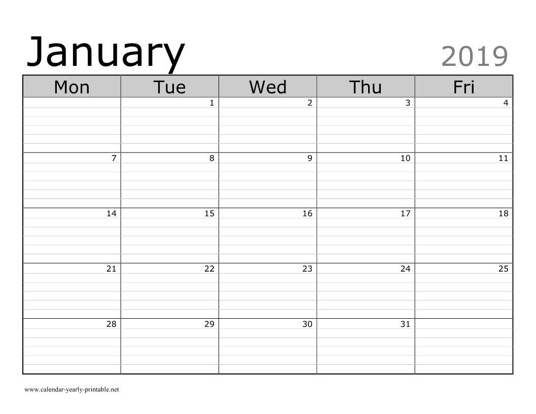 Universal Free Lined Calendar Templates Printable In 2020 | Calendar Template, Monthly Calendar