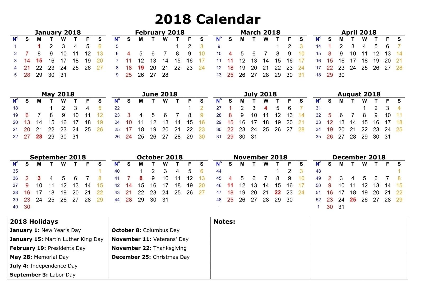 Year Calendar With Space To Write | Ten Free Printable Calendar 2020-2021