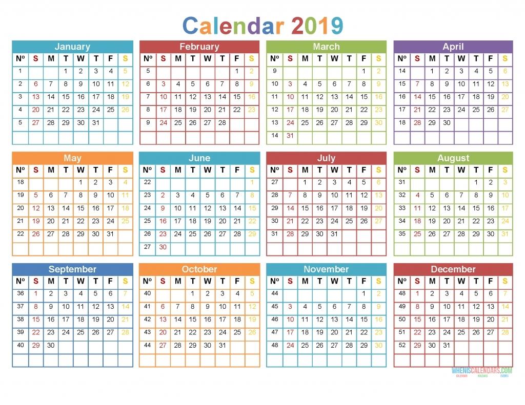 2020 12 Month Monday To Sunday Calendar Template - Calendar Inspiration Design