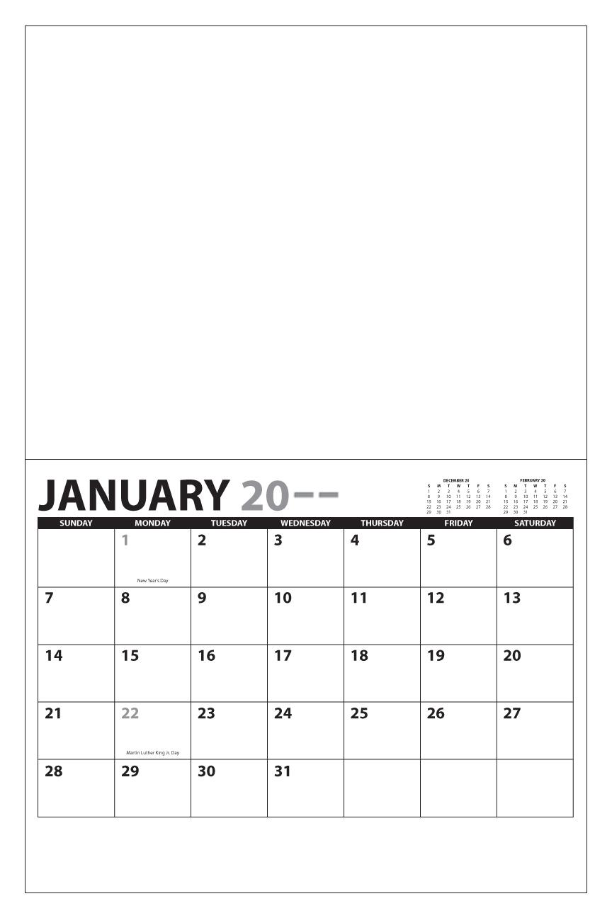 "2021 13 Month Custom Photo Wall Calendar, Stapled   11"" X 17""; 8.5"" X 11"" (Closed) Custom"