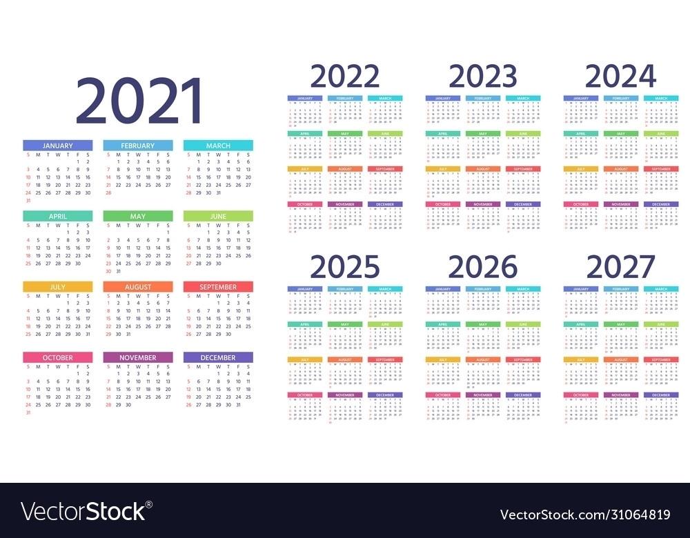 2021 2022 2023 Downloadable Calendar   Ten Free Printable Calendar 2020-2021
