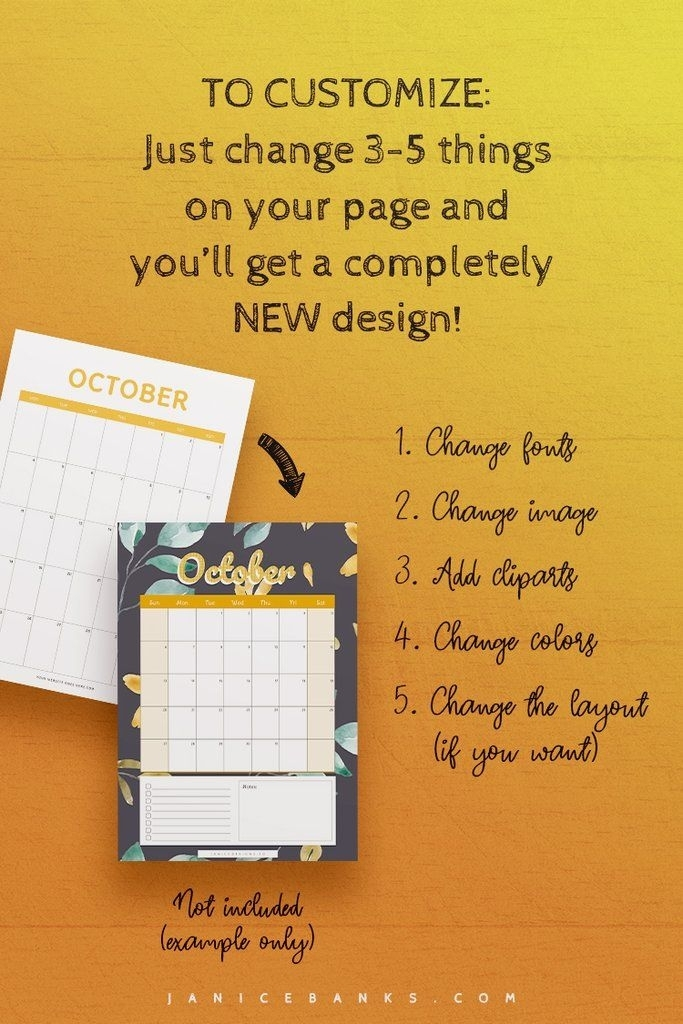 2021-2023 Calendar Indesign Template: Friendly Edition In 2020 | Indesign Templates, Printable
