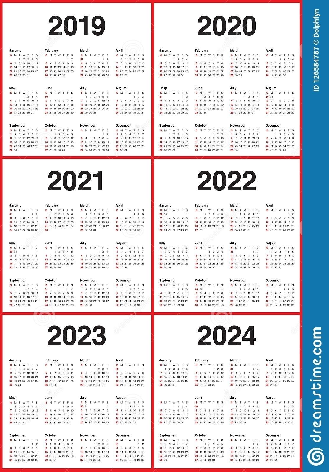 3 Year Calendar 2021 To 2023   Month Calendar Printable