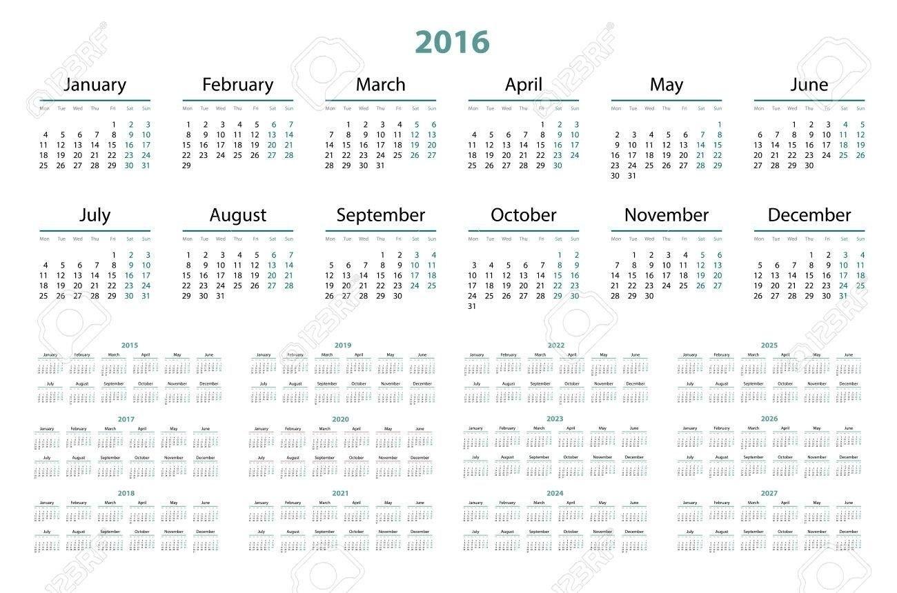 3 Year Calendar 2022 To 2024 | Calendar Template, Blank Calendar Template, Calendar 2020