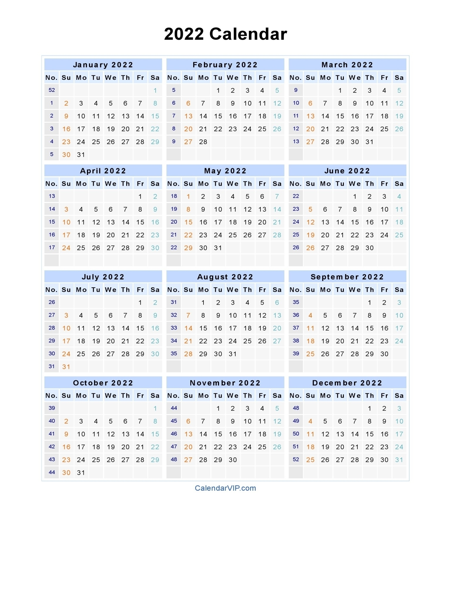 3 Year Calendars 2021 2022 2023 Free Printable | Calendar Template Printable