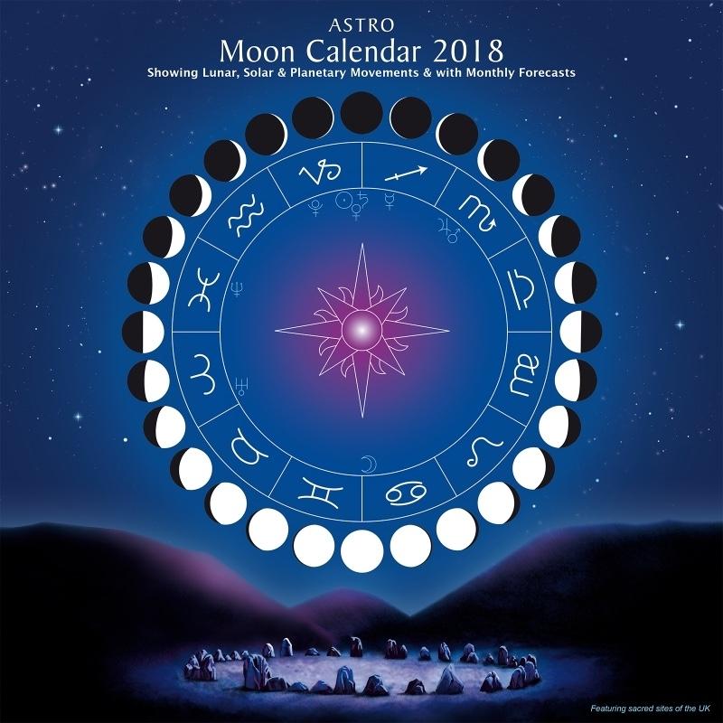 Astro Moon Calendar 2018 - Astrocal