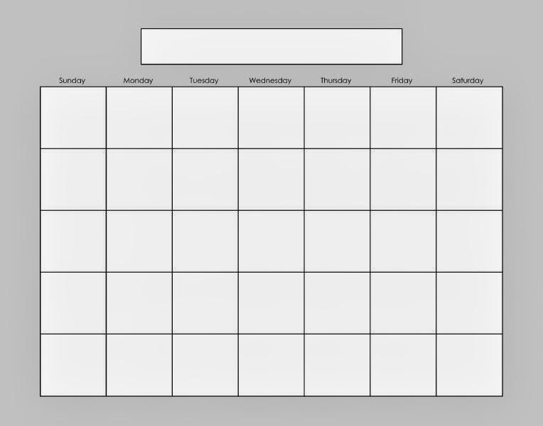 Blank Calendar 2013 - 2014 | 2016 Blank Calendar - Calendar En - Www.albumi.c.la
