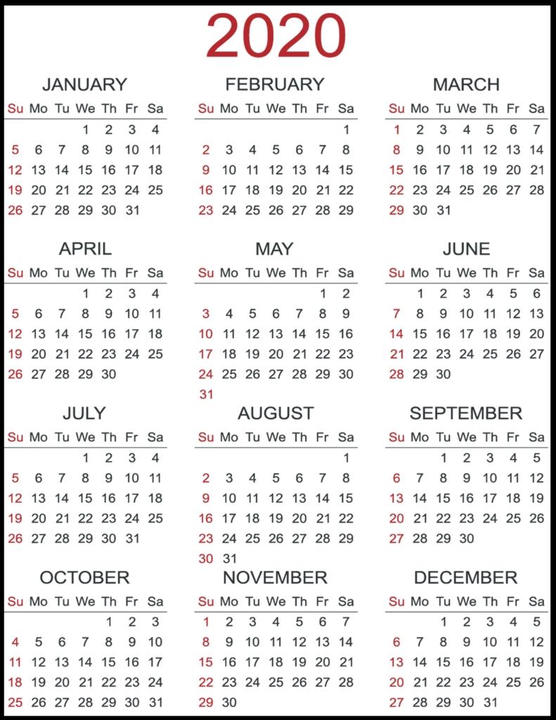 Calendar 2020 3 Columns   Calendar Printables Free Templates