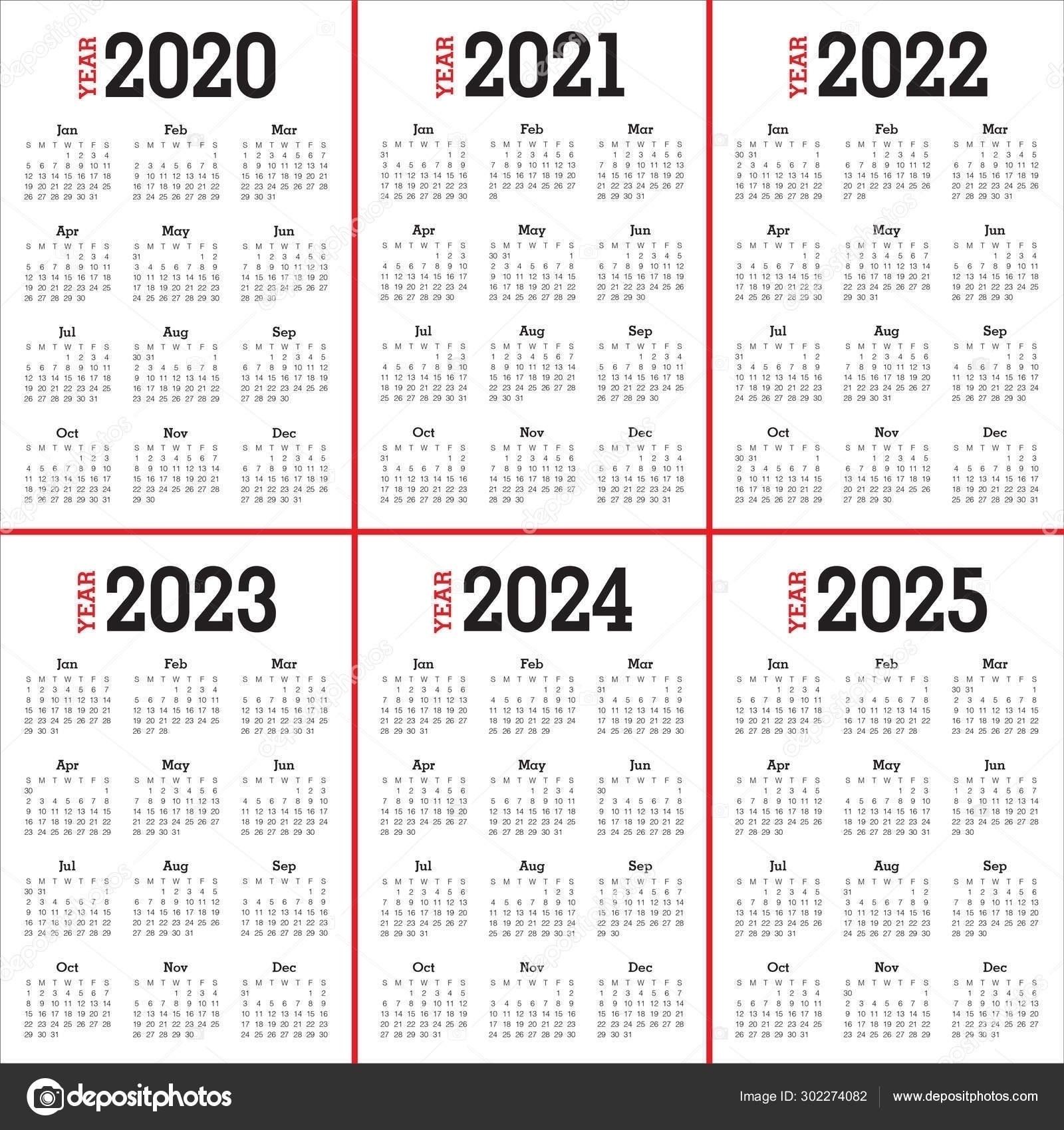 Calendars 201 2021 2022 2023 2024 | Ten Free Printable Calendar 2020-2021