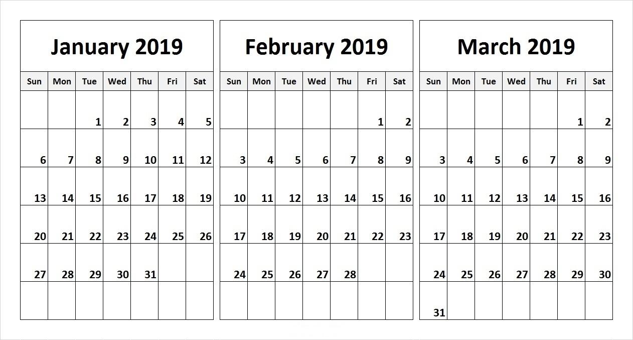 Calender For Last 3 Months - Calendar Inspiration Design